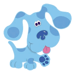 Blue from Blue's Clues