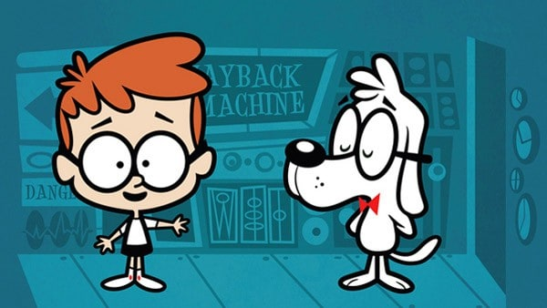 Mister Peabody from The Adventures Of Rocky And Bullwinkle