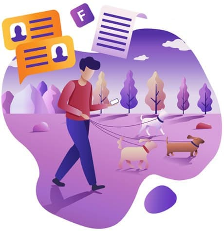 Dog walking apps