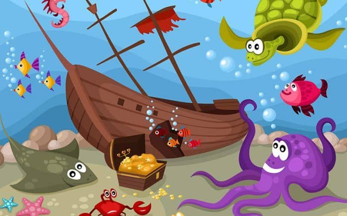 Pirate aquarium ideas
